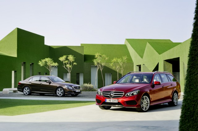 2015 Mercedes-Benz E-Class (European version)