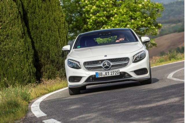 2015 Mercedes-Benz S-Class Coupe Dynamic Curve suspension