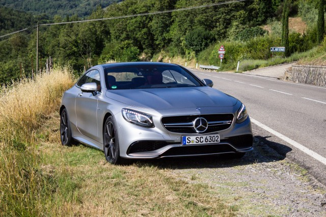 2015 Mercedes-Benz S63 AMG Coupe first drive