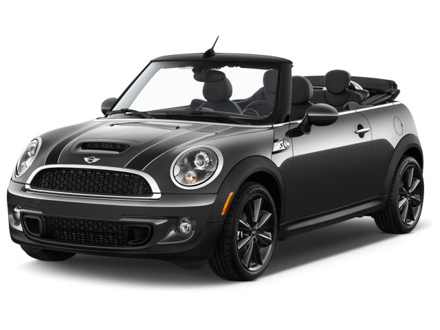 2015 MINI Cooper Convertible 2-door S Angular Front Exterior View