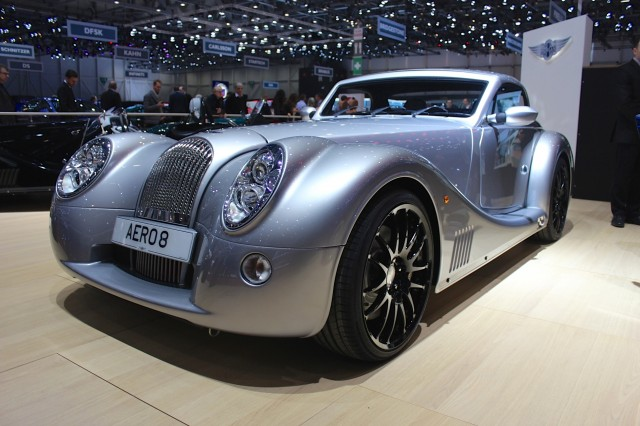 2015 Morgan Aero 8  -  2015 Geneva Motor Show live photos