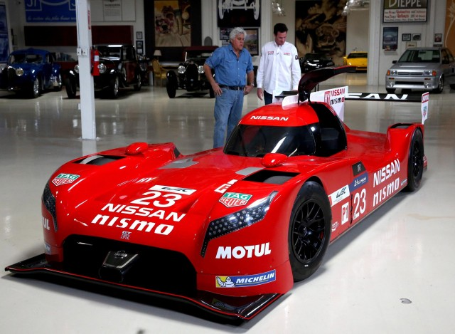 2015 Nissan GT-R LM NISMO at Jay Leno's Garage