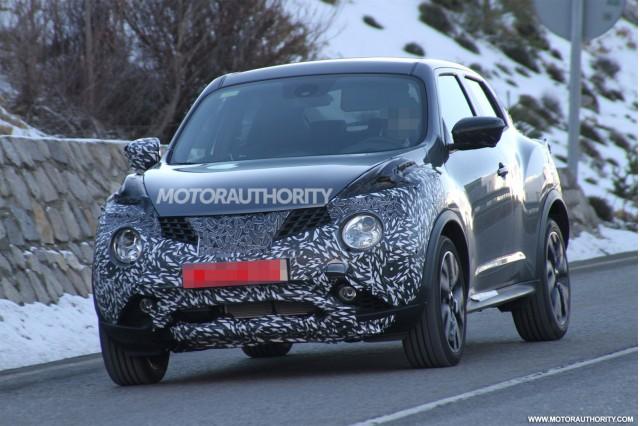 2015 Nissan Juke facelift spy shots