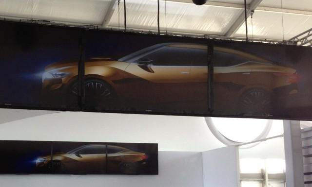 2015 Nissan Maxima Concept teaser image
