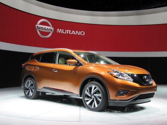 2015 Nissan Murano launch, 2014 New York Auto Show