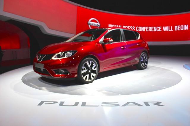 2015 Nissan Pulsar (Euro-market)  -  2014 Paris Auto Show