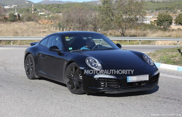 2015 Porsche 911 Carrera GTS spy shots