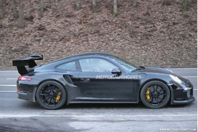 2015 Porsche 911 GT3 RS spy shots