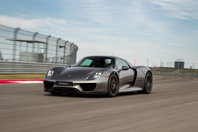 2017 Porsche 918 Spyder