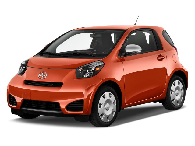 2015 Scion iQ 3dr HB (Natl) Angular Front Exterior View
