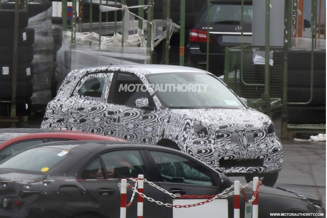 2015 Smart Forfour spy shots