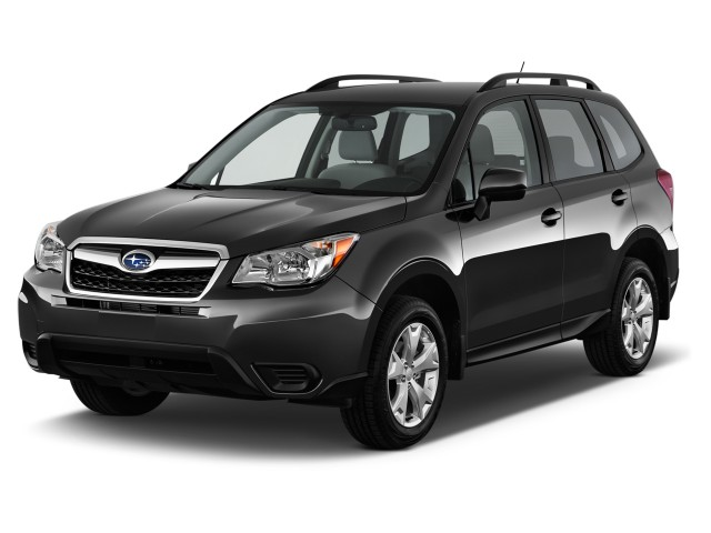 2015 Subaru Forester 4-door Auto 2.5i PZEV Angular Front Exterior View
