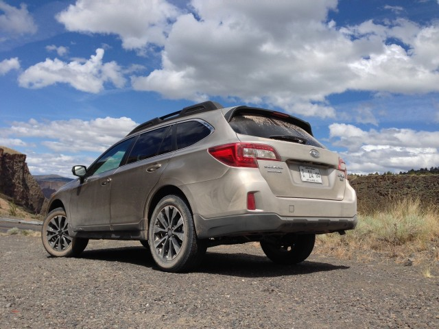 2015 Subaru Outback - First Drive