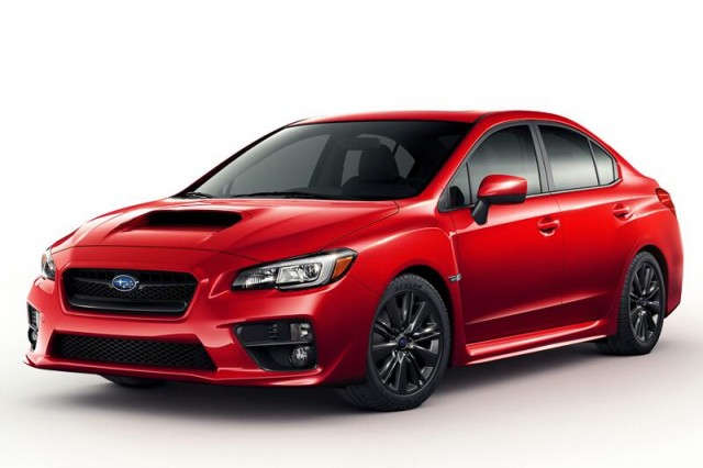 2015 Subaru WRX, purported leaked image