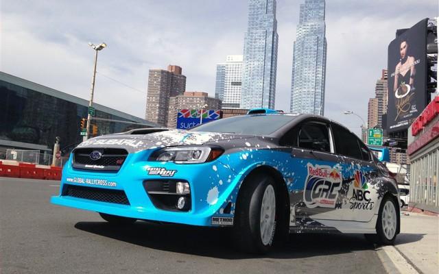2015 Subaru WRX STI Global RallyCross car