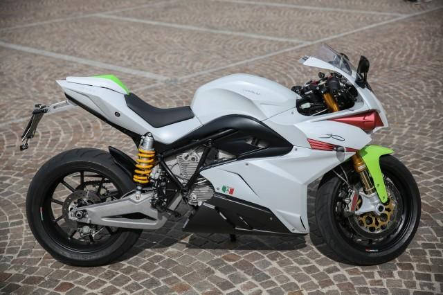 2015 Energica Ego electric motorcycle