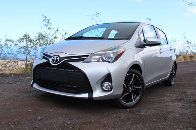 2015 Toyota Yaris  -  First Drive, September 2014