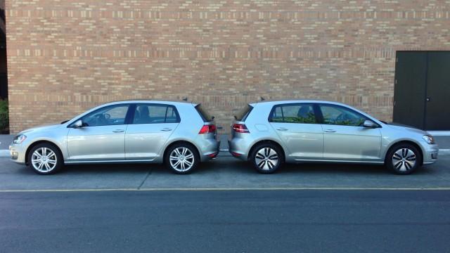 2015 Volkswagen e-Golf Vs. 2015 Volkswagen Golf TDI