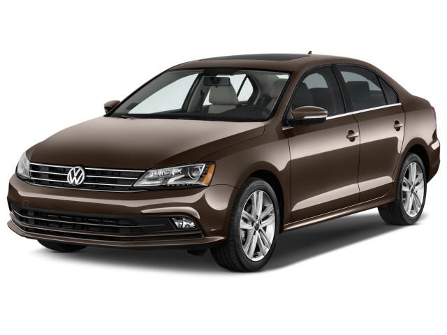 2015 Volkswagen Jetta Sedan 4-door Auto 1.8T SEL Angular Front Exterior View