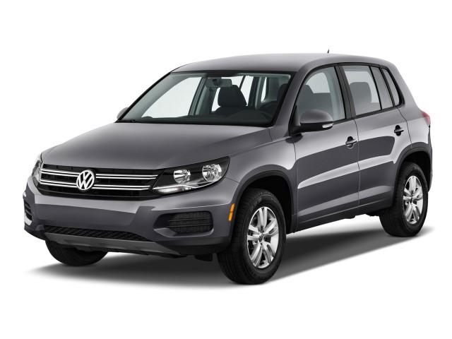 2015 Volkswagen Tiguan Angular Front Exterior View