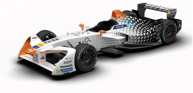 2016/2017 Faraday Future Dragon Racing Formula E race car
