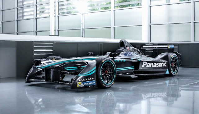 2016 2017 Jaguar I Type 1 Formula E Race Car