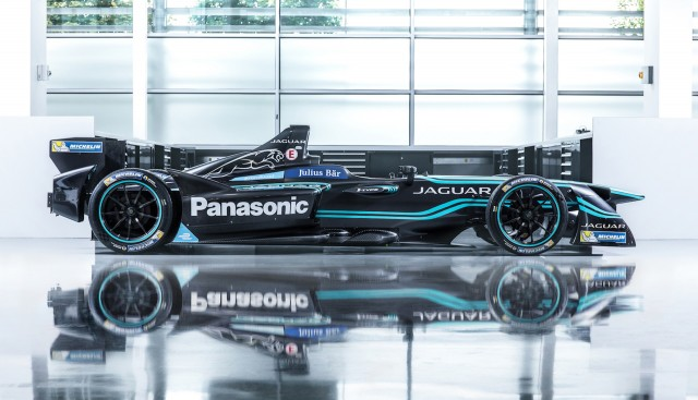 2016/2017 Jaguar I-Type 1 Formula E race car