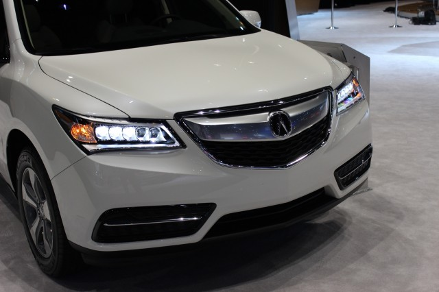 2016 Acura Mdx 2017 Chicago Auto Show Live Photos