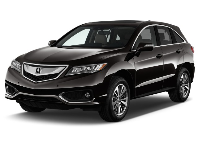 2016 Acura RDX FWD 4-door Advance Pkg Angular Front Exterior View