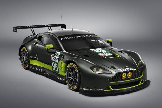 2016 Aston Martin Vantage GTE race car