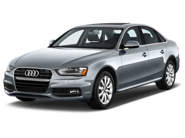 2016 Audi A4 4-door Sedan CVT FrontTrak 2.0T Premium Angular Front Exterior View