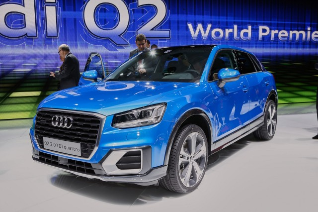 Audi Q2 Small Suv Debuts At Geneva Another Utility Vehicle For German Luxury Brand