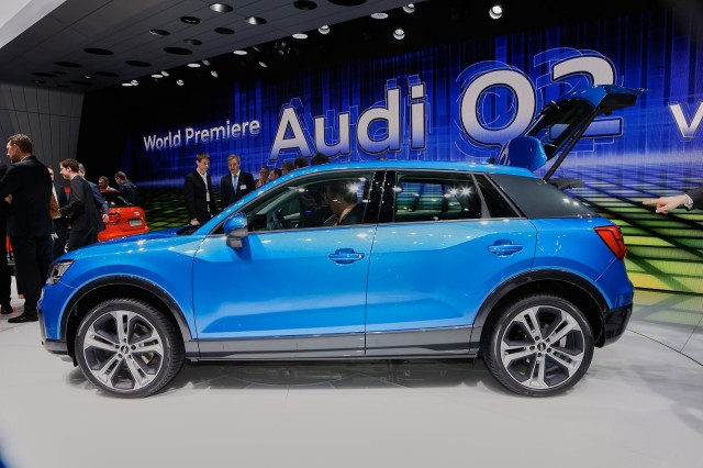 audi q2 small suv debuts at geneva another utility