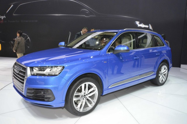 2017 Audi Q7 E Tron Plug In Hybrid Will Be Gasoline Not Sel For U S And China