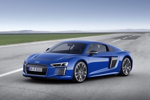 Offagain Onagain Audi R Etron Ended After Built - Audi r8 etron