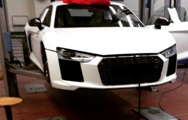 2016 Audi R8 image leaked. Image via Instagram user dreboog.