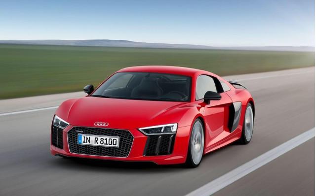 2016 Audi R8 leaked image. Photo via Motor Pasión.