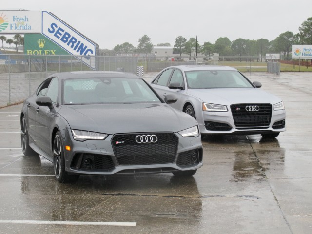 2016 Audi RS 7 Performance and S8 Plus, Sebring 2016