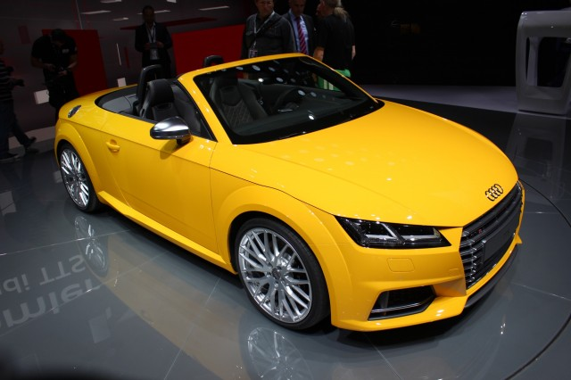 2016 Audi Tt Roadster Revealed 2014 Paris Auto Show Live Photos Video