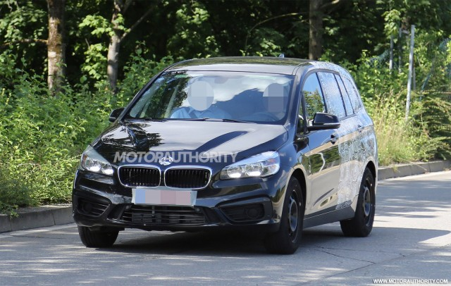 2016 BMW 2-Series Gran Tourer spy shots