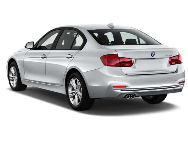 2016 BMW 3-Series 4-door Sedan 328i RWD Angular Rear Exterior View