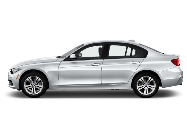 2016 BMW 3-Series 4-door Sedan 328i RWD Side Exterior View