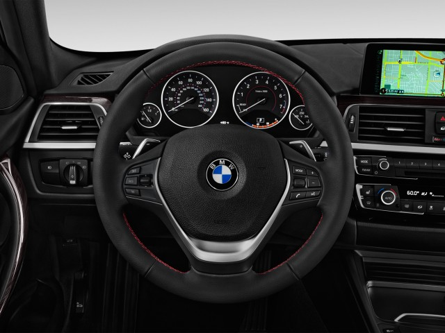 2016 BMW 3-Series 4-door Sedan 328i RWD Steering Wheel