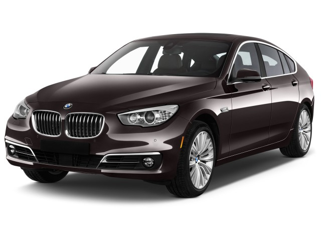 2016 BMW 5-Series Gran Turismo 5dr 535i Gran Turismo RWD Angular Front Exterior View