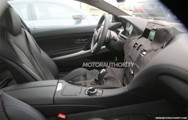 2016 BMW 6-Series facelift spy shots