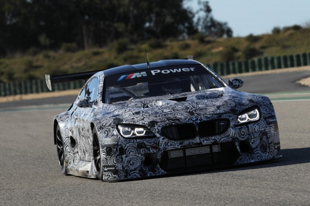 2016 BMW M6 GT3 race car prototype