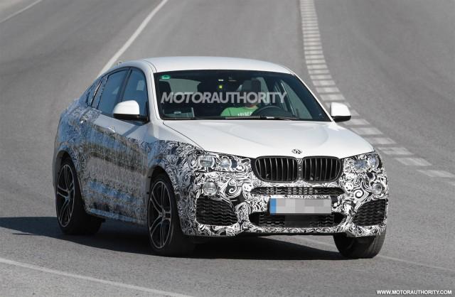 2016 BMW X4 M40i Spy Shots