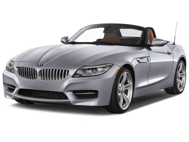 2016 BMW Z4 2-door Roadster sDrive35is Angular Front Exterior View