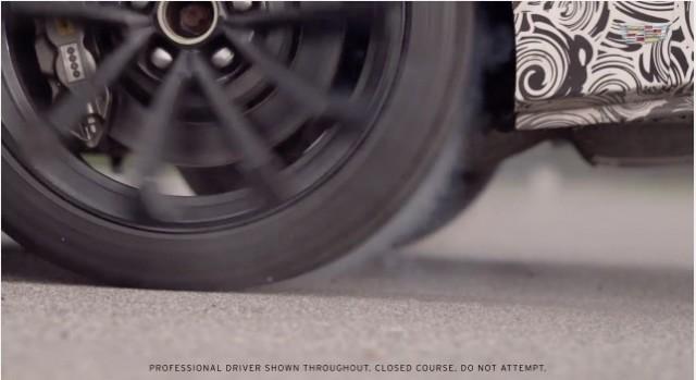 2016 Cadillac ATS-V Coupe Teaser