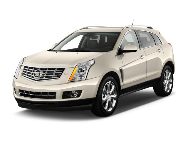 2016 Cadillac SRX FWD 4-door Premium Collection Angular Front Exterior View